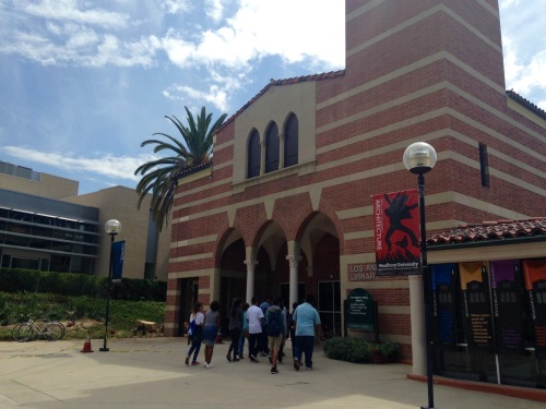 Woodbury University sponsored a campus tour for Summer Bridge Program participants from Carson High School.