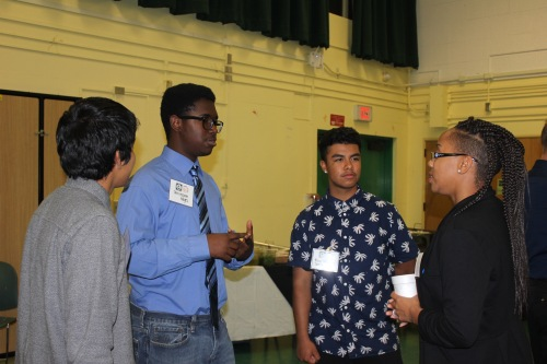 ITEP-Narbonne High School-Business and Technology Pathway-Holiday Mixer 2015